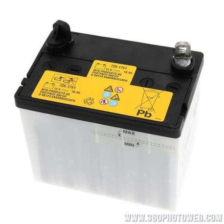 R f rence pi ce d tach e chs mtd 725 05034 batterie for Batterie pour autoportee mtd